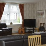 Living room in Aberdeen